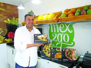 Gerry Martinez, chef e criador do Mex2Go