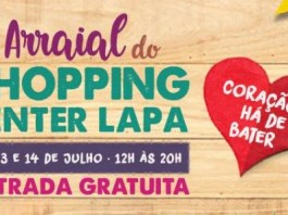 Arraial Julino no Shopping Center Lapa