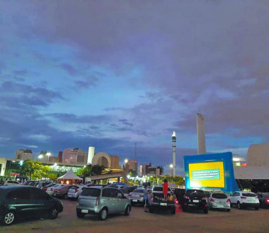 Memorial receberá cinema no formato de drive-in